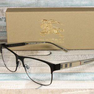Burberry Matte Black 55m Mens Eyeglasses